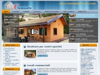 Prefabbricati case legno case prefabbricate bioedilizia for Clemente prefabbricati