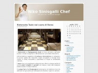 Niko Sinisgalli Chef | Executive Chef – Restaurant Manager