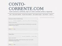 CONTO-CORRENTE.COM  | Scegliere il migliore e risparmiare – Conti Correnti Online a confronto.