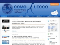 Cnacomo.it - Home - CNA Como - Lecco - Monza