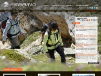 ferrino.it tende campeggio trekking accessori