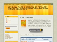 Ypspider.net - Yellow Pages Spider Software: Yellow Pages Spider