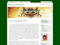 ROCK GENERATION | TOO FAST TO LIVE, TOO YOUNG TO DIE