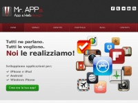 Mr. APPs | Applicazioni iPhone Mobile Webdesign Appdesign Social Media Marketing