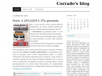 Corrado's blog | Things were good when we were young