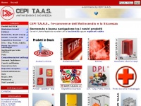 CEPI T.A.A.S., Antincendio e Sicurezza