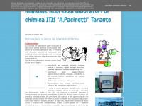 """Manuale sicurezza laboratori di chimica ITIS """"A.Pacinotti"""" Taranto"""