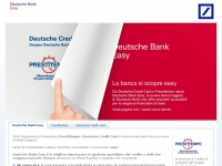 Dbeasy.it - Deutsche Bank Easy - comingsoon