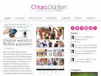 Chiara Dal Ben | Fashion Digital PR. Web Editor. Blogger.