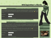 Witchpanther's Words | Pensieri, parole, opere omissioni!!!