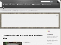 Bed & Breakfast Le Carabattole Vicopisano (Pisa) in Toscana