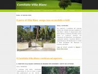 Benvenuti nel sito del Comitato Villa Blanc, Roma, Italia