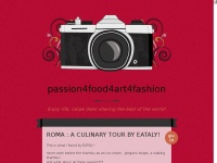 passion4food4art4fashion | Enjoy life, carpe diem sharing the best of the world!
