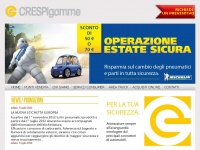 Crespi Gomme Home Page