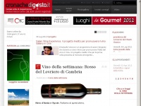 Cronachedigusto.it giornale on line di enogastronomia.