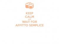 Coming Soon AFFITTOSEMPLICE.IT