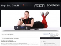 Hifi.net - High End GmbH: The Manufacturer of AARON ® and SOVEREIGN ® Amplifiers. High-End Audio from Germany