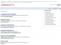 Webinvest.it - WEBINVEST™ | Domain Names & Consulting