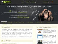 Realizzazione siti web e e-commerce, Housing, Hosting, VOIP - 2open.it