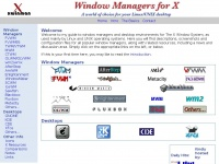 Xwinman.org - Window Managers for X