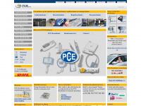 Pce-inst-benelux.nl - PCE Brookhuis: Meettechniek en Weegtechniek