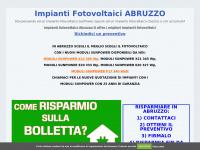Impianti Fotovoltaici Abruzzo: fotovoltaico in scambio sul posto 2016 con detrazione fiscale e con accumulo - Impianti Fotovoltaici Abruzzo, Fotovoltaico SunPower, Fotovoltaico con accumulo di qualità Abruzzo, Chieti, L'Aquila, Pescara, Teramo
