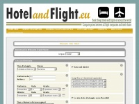 Hotelandflight.eu - reservation of cheap flights and