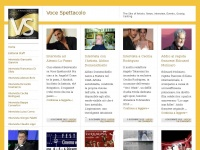 Voce Spettacolo | The Site of Artists. News, Interviews, Events, Gossip, Casting