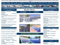 Impianti fotovoltaici Pannelli fotovoltaici solari - SolarItalia