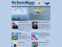 VOLI TURISTICI BIPOSTO con parapendio o deltaplano in Piemonte e Valle d'Aosta - TOURIST TANDEM paragliding or hanggliding