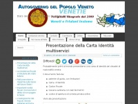 Stato delle Venezie - Governo del Popolo Veneto - Autorità di Autogoverno del Popolo Veneto fondata nel 1999