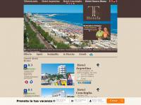 Il sito dell'Hotel Argentina e dell'Hotel Conchiglia di senigallia, per prenotare on-line le vostre vacanze in adriatico, sulla splendida spiaggia di velluto di senigallia