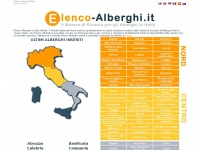 elenco-alberghi.it hotel italia dove