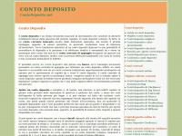 Conto Deposito, guida ai migliori conti deposito - ContoDeposito.net