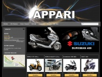 Benvenuti nel sito Apparimoto, concessionario Suzuki, Kymco, Sym, Beta a Rapallo e Santa Margherita Ligure. - Appari Moto