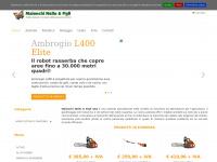 Maionchi Nello e Figli - Robot tagliaerba, macchine e attrezzi per agricoltura, giardinaggio e boschivo - vendita e assistenza - Toscana