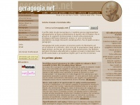Geragogia, Geriatria e Gerontologia su Geragogia Net