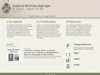 Accademia Roveretana degli Agiati - Homepage