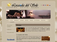 LOCANDA DEL SOLE | Luxury B&B Rome Bed and Breakfast Piazza Navona Pantheon Rooms in Rome Affitto Camere Roma Boutique Hotel