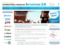 Enterprise2forum.it - L'International Forum on Enterprise 2.0 diventa il Social Business Forum | International Forum on Enterprise 2.0
