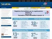 eos-serverweb.it dominio registrazione hosting domini pannello spazio