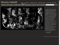 Vincenzo Cottinelli free-lance photographer, produces portraits of writers, philosophers, artists and emblematic pictures, social and travel reportages