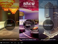nhow Hotels   Elevate your stay in a modern design hotel