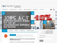 Dottrina Per il Lavoro | notizie e aggiornamenti normativi