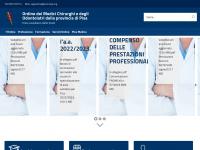 Ordine dei Medici Chirurghi e Odontoiatri | Pisa - Ordine dei Medici Chirurghi e degli Odontoiatri della provincia di Pisa