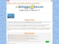 Scalea - La guida turistica-commerciale della città di Scalea - Le Spiagge di Scalea