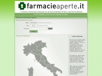 farmacieaperte.it como lecco monza