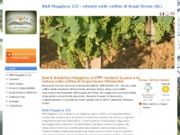 B&B Maggiora 131 situato nelle colline di Acqui Terme