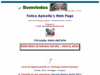 Felice Apicella's Web Page -CHIRURGIA-chirurgia-SURGERY-surgery-thoracic surgery-chirurgia toracica-general surgery-chirurgia generale-txp-Firenze-Toscana-Italia-Italy-trasfusioni-trasfusione-trasfusioni di sangue-trasfusione di sangue-chirurgia senza sangue-surgery without blood-testimoni di geova-sangue-blood-carcinosi-carcinosi peritoneale-carcinomatosis-cancro-tumore-cancer-oncologia-oncology