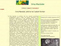 Ginamarziale.it - Gina Marziale, pittrice nei Castelli Romani, Roma, Rocca di Papa, Grottaferrata, Frascati, pittrice, pittore, incisore, incisione, quadro, etching, painter, artist